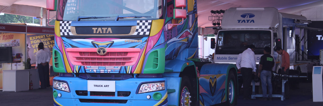Tata truck world expo